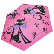 """Женский зонт Ame Yoke """"Кошка"""" розовый"""
