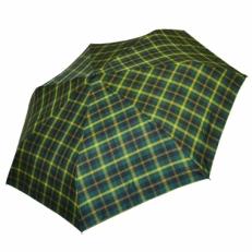 "Зонт автомат Ame Yoke ""Зеленый в клетку"""