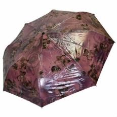 Зонт женский Ame Yoke бордовый