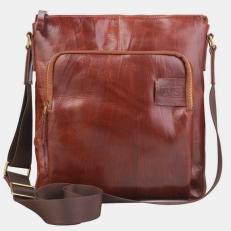 Мужская сумка P0012 коньяк