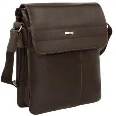 Мужская сумка из кожи коричневая Palmdale