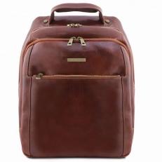 Phuket - Кожаный рюкзак для ноутбука с 3 отделениями
