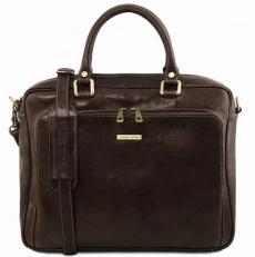 Pisa - Кожаный портфель-папка для ноутбука