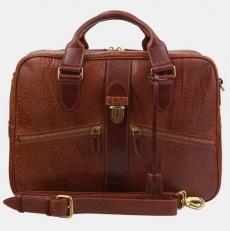 Деловая сумка PF0022 Cognac Bizon фото-2