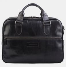 Сумка-портфель PF0022 черная фото-2