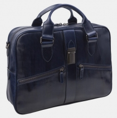 Сумка-портфель PF0022 синяя