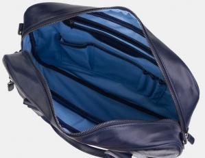 Сумка-портфель PF0022 синяя фото-2
