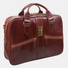 Сумка-портфель PF0022 коньяк