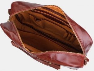 Сумка-портфель PF0022 коньяк фото-2