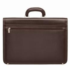 Кожаный портфель Farington Brown фото-2