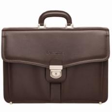 Кожаный портфель Farington Brown
