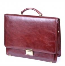 Кожаный портфель 05-01661