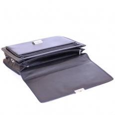 Кожаный портфель 04-019406 фото-2