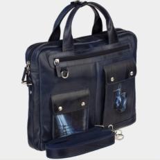 Кожаный портфель «Ринг» фото-2