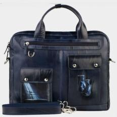 Кожаный портфель «Ринг»