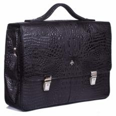 Кожаный портфель 9738 Bambino Black