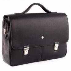 Кожаный портфель 9738 Polo Black