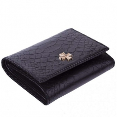 Кожаный кошелек 9568 N.Anaconda Black