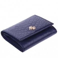 Кожаный кошелек 9564 N.Anaconda D.Blue