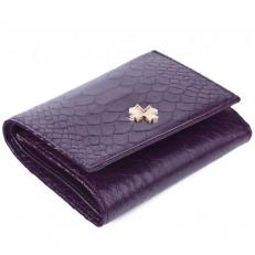 Кожаный кошелек 9568 N.Anaconda Purple