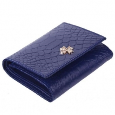 Кожаный кошелек 9564 N.Anaconda Ultra Blue