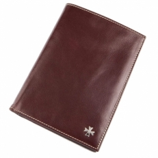 Кожаный бумажник Vasheron 9672 Vegetta Funduk