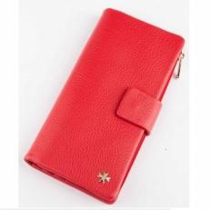 Кожаное портмоне Vasheron 9681 Polo Red