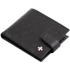 Мужское портмоне 9683 N.Ostrich Black