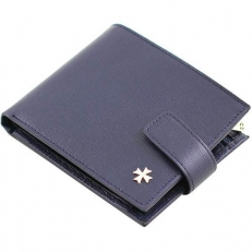 Мужское портмоне 9683 N.Prada D.Blue