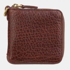 Кожаное портмоне PR0016 Cognac Bizon