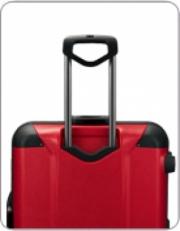Красный чемодан на колесах 00568 фото-2