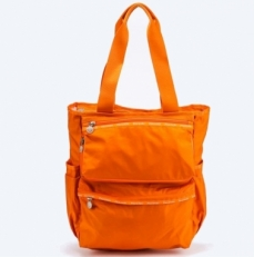 Складная сумка 02025 оранжевая