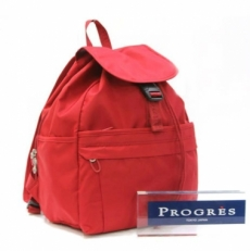 Женский рюкзак красный 20023