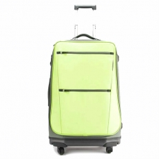 Салатовый чемодан на колесах 63196-13 фото-2