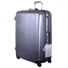 Серый чемодан 00373