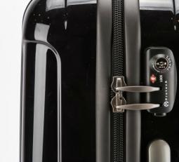 Пластиковый чемодан на молнии 00866-01 фото-2