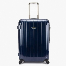 Синий японский чемодан 00860