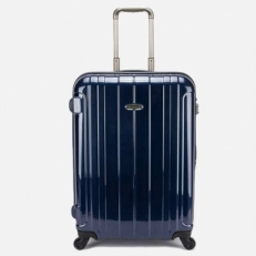 Синий чемодан с кодовым замком 00866-05