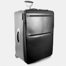 Черный чемодан Proteca 12248-01