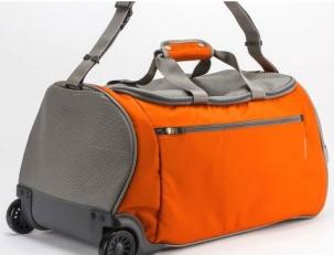 Сумка на колёсах 63198 оранжевая