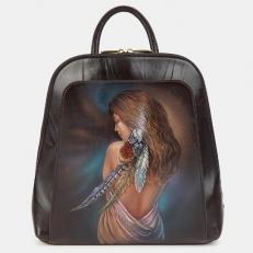 Красивый рюкзак с изображением девушки