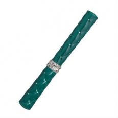 Серебряная ручка роллер R018116 зеленая