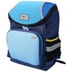 Пиксельный рюкзак для мальчика WY-A019 темно-синий