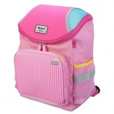 Пиксельный рюкзак школьный WY-A019 розовый