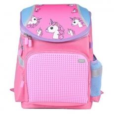 Рюкзак детский единорог A-019 розовый
