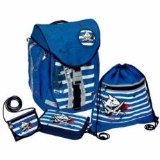 Ранец для мальчика Capt'n Sharky Flex Style 10600
