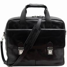 REGGIO EMILIA - Эксклюзивная кожаная сумка для ноутбука