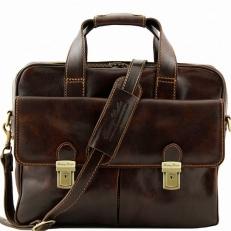 REGGIO EMILIA - сумка для ноутбука ручной работы