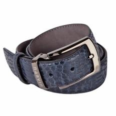 Кожаный ремень Vasheron 31079 Aligro Indigo