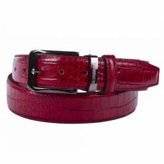 Кожаный ремень Narvin by Vasheron 31079 Aligro Red